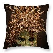 Frou-Frou Throw Pillow by Adam Long