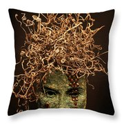 Frou-frou Throw Pillow by Adam Long