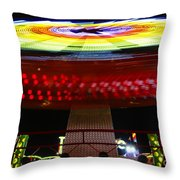 Fun With Spock Throw Pillow by David Lee Thompson