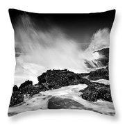 Fury Throw Pillow by Mike  Dawson