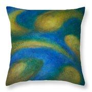 Galaxia Throw Pillow by Anita Burgermeister
