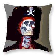 Gasparilla Work Number 5 Throw Pillow by David Lee Thompson