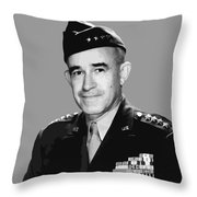 General Bradley Throw Pillow by War Is Hell Store