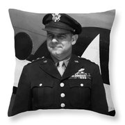 General Jimmy Doolittle Throw Pillow by War Is Hell Store