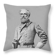 General Robert E Lee Throw Pillow by War Is Hell Store