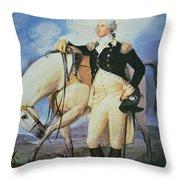 George Washington Throw Pillow by John Trumbull