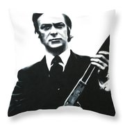 Get Carter 2013 Throw Pillow by Luis Ludzska