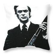 Get Carter 2013 Throw Pillow by Luis Ludzska