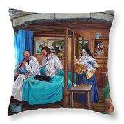 Get Well Soon ... Throw Pillow by Juergen Weiss