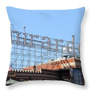 Ghirardelli Chocolate Factory San Francisco California . 7d13979 Throw Pillow by Wingsdomain Art and Photography