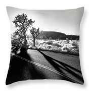 Ghouls Throw Pillow by Laurie Search