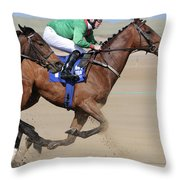 Giddy Up Throw Pillow by Marion Galt