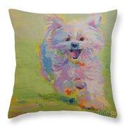 Gigi Throw Pillow by Kimberly Santini