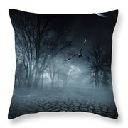 Glaucus Throw Pillow by Lourry Legarde