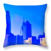 Global Warming Throw Pillow by Bill Cannon