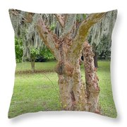 Gnarly Throw Pillow by Suzanne Gaff