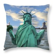 Going South Throw Pillow by Mike McGlothlen