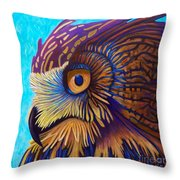 Golden Silence Throw Pillow by Brian  Commerford