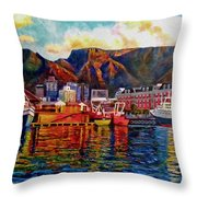 Grace at the Table 2.0 Throw Pillow by Dr Michael Durst