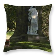 Graceland Chicago - The place where the spirits roam Throw Pillow by Christine Till