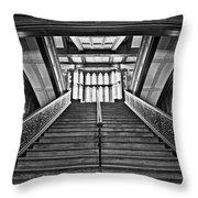 Grand Case Throw Pillow by CJ Schmit