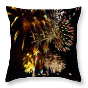 Grand Finale Throw Pillow by Raquel Bright