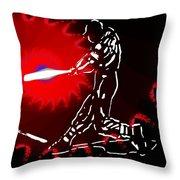 Grand Salami 2 Throw Pillow by Tim Allen