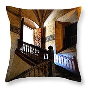 Grand Staircase 2 Throw Pillow by Mexicolors Art Photography