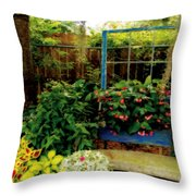 Grandmother's Dream Throw Pillow by Laura Brightwood