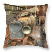 Grandpa's 1922 Studebaker Roadster Throw Pillow by Scott Bert