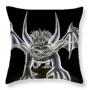 Grevil Pastel Throw Pillow by Shawn Dall