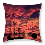 Guiding The Way Throw Pillow by Shane Bechler