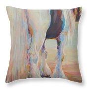 Gypsy Falls Throw Pillow by Kimberly Santini