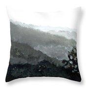 Hacienda Lamberti Throw Pillow by Sarah Lynch