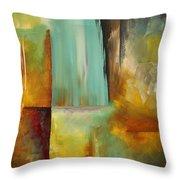 Haphazardous By Madart Throw Pillow by Megan Duncanson