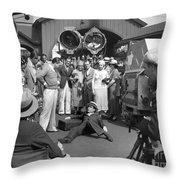 Harold Lloyd (1893-1971) Throw Pillow by Granger