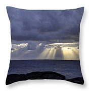Hawaiian Sunrise Throw Pillow by Mike Herdering
