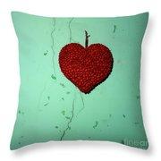 Heart Throw Pillow by Bernard Jaubert