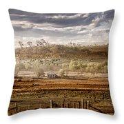 Heartland Throw Pillow by Holly Kempe