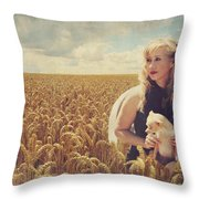 Hearts and Thoughts They Fade....Fade Away Throw Pillow by Laurie Search