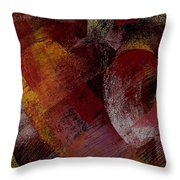 Hearts Throw Pillow by David Patterson