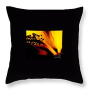Heat Throw Pillow by Linda Shafer