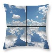 Heaven Throw Pillow by James W Johnson