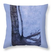 Hedden Park II Throw Pillow by Leah  Tomaino