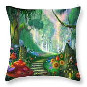 Hidden Treasure Throw Pillow by Philip Straub