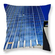 High Up To The Sky Throw Pillow by Susanne Van Hulst