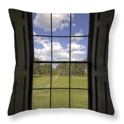 Historic Drayton Hall Window in Charleston South Carolina Throw Pillow by Dustin K Ryan