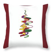 Holidays Throw Pillow by Mary Zimmerman