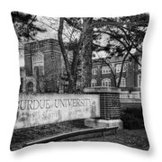 Home Of The Boilers Throw Pillow by Coby Cooper