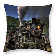 Hot And Steamy Throw Pillow by Evelina Kremsdorf